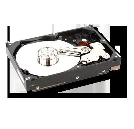 Open hard drive